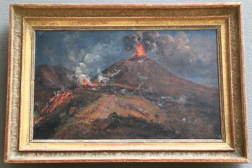 ベスビオ火山の噴火.JPG